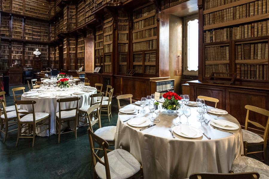 Evento aziendale presso Biblioteca Angelica